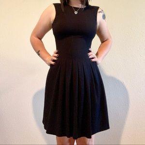 Calvin Klein Black Midi-Dress